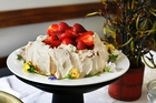 Pavlova- a Kiwi Christmas treat. Photo Steven McNicholl