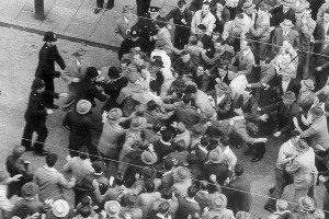 The waterfront dispute, not beer, sparked riots in 1951. Photo / NZ Herald