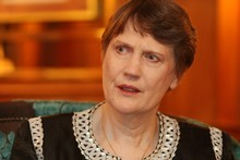 Former Prime Minister Helen Clark. Photo / Greg Bowker