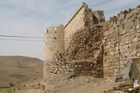 The ramparts of Takht-e Soleiman. Photo / Jill Worrall