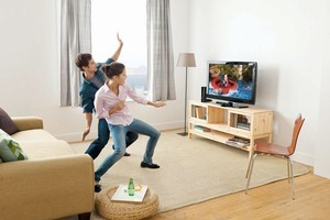 Getting into the groove with Kinect is the new black in terns of video gaming. Photo / Supplied
