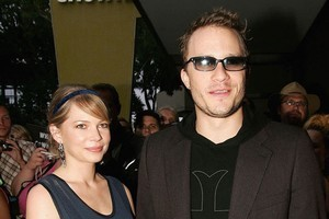 Michelle Williams and Heath Ledger. Photo / Getty Images