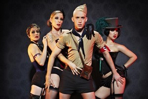The cast of Cabaret. Photo / Supplied.