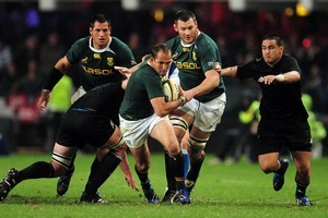 Fourie du Preez returns to halfback for the Springboks. Photo / Photosport