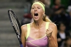 Sharapova is known for her ear-splitting squeals and grunts. Photo / Getty Images