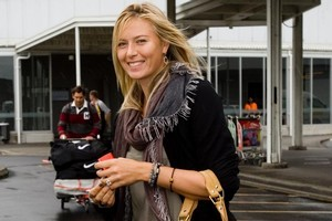 Maria Sharapova's attendance at the ASB Classic has given ticket sales a major boost, say organisers. Photo / Dean Purcell