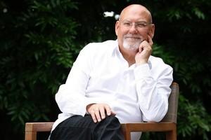 Raymond John Avery - Knight Grand Companion of the New Zealand Order of Merit. Photo / Sarah Ivey.
