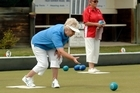 Lois Grey of Elmwood, Christchurch, qualified for post-section play in the women's pairs. Photo / Otago Daily Times