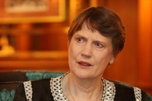 Helen Clark says she was formal in her interactions with diplomats. Photo / Greg Bowker