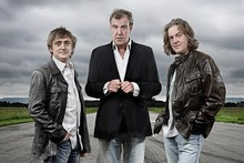 Top Gear presenters Jeremy Clarkson, Richard Hammond and James May. Photo / Supplied.
