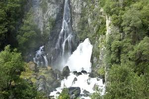 The picturesque Tarawera Falls. Photo / Rotorua Daily Post.