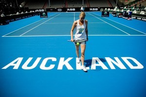 By announcing she was to be the ASB Classic's marquee signing, Sharapova made clear she was treading a new path in 2011. Photo / Dean Purcell