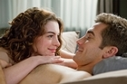 Jake Gyllenhaal and Anne Hathaway get up close and personal. Photo / Supplied