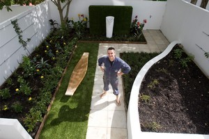 A garden path was the initial motivation for this  Freemans Bay makeover but soon evolved into a wholly transformed courtyard. Photo / Paul Estcourt