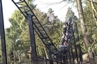Thirteen - one of the world's scariest roller coasters. Photo / Supplied