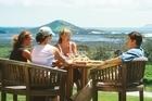 Outdoor drinking and dining at Karikari Estate vineyard near Kaitaia. Photo / Supplied