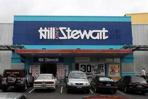 Hill and Stewart: victim of the recession. Photo / NZ Herald
