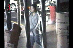 Police suspect this man was carrying the bag that was found near the murder scene. Photo / Supplied