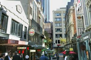 Enclosing Vulcan Lane as an arcade would tempt people to linger. Photo / Paul Estcourt
