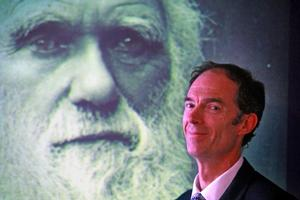 Chris Darwin said he didn't inherit his ancestor's scientific ability. Photo / Supplied