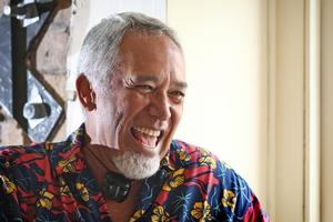 George Henare is as loveable as ever. Photo / Natalie Slade