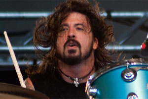 Them Crooked Vultures' Dave Grohl. Photo / Creative Commons Free Licence