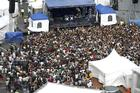 The crowds at Laneway. Photo / Steven McNicholl