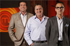 MasterChef NZ judges Ross Burden, Simon Gault and Ray McVinnie. Photo / Supplied