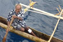 Maewo Island's Chief Nelson. Photo / Catherine Masters