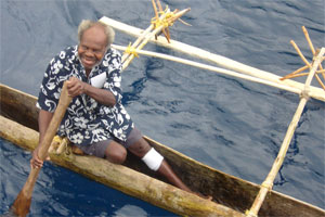 Maewo Island's Chief Nelson. Photo / Catherine Masters