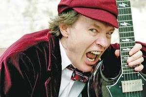 AC/DC guitarist Angus Young. Photo / Supplied