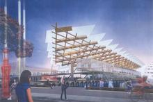 The $97m option that includes a $49.2m cruise ship terminal. Photo / Supplied