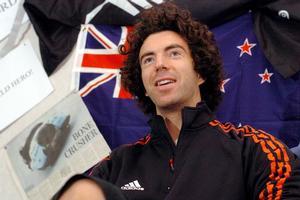 Winter Olympic skeleton racer Ben Sandford. Photo / Daily Post