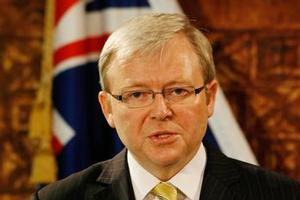 Support for Rudd's emissions trading scheme is collapsing. Photo / Greg Bowker