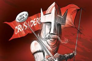 The Crusaders will field the best pack in the competition. Cartoon / Rod Emmerson
