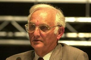 Sir John Houghton has been accused of advocating scary propaganda over global warming. Photo / Supplied