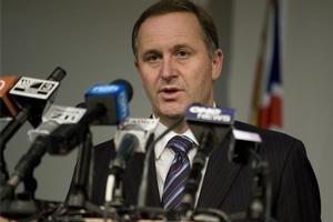 John Key is expected to outline his economic plans in a speech tomorrow. Photo / Mark Mitchell.