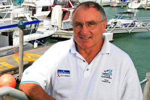Harold Bennett, principal race officer for the 33rd America's Cup regatta. Photo / Martin Sykes
