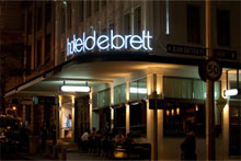 Hotel DeBrett. Photo / Supplied
