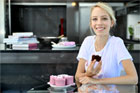 Jordan Rondel has started up a home-made cake business called 'The Caker'. Photo / Natalie Slade