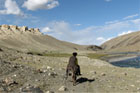 On the Pamir Trail in the Hindu Kush. photo / Ian D. Robinson