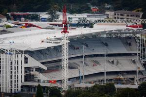 Eden Park will soon be a stadium to be excited about. Photo / Richard Robinson