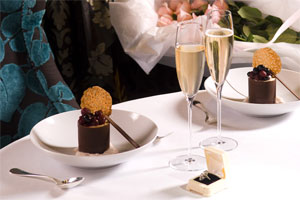 Valentine's Day at The Langham Hotel. Photo / Supplied