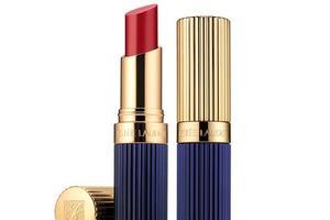 Estee Lauder Double Wear lipstick in Stay Scarlet. Photo / Supplied
