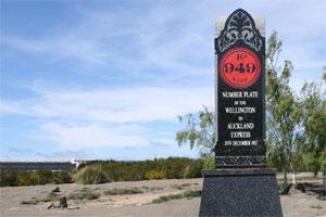 The Tangiwai Memorial. Photo / Jim Eagles
