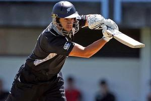 Ross Taylor in action during first ODI in Napier last week. Photo / Getty Images