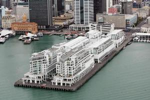 The Hilton Auckland has closed rooms on six floors to fix leaks. Photo / Doug Sherring