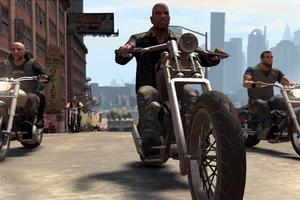 Gamers playing as bikers could prove even scarier for anti-gaming politician Michael Atkinson.
