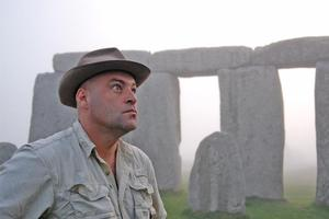 Stone cold at Stonehenge. Photo / Supplied