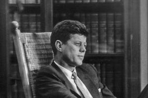 John F Kennedy. File picture